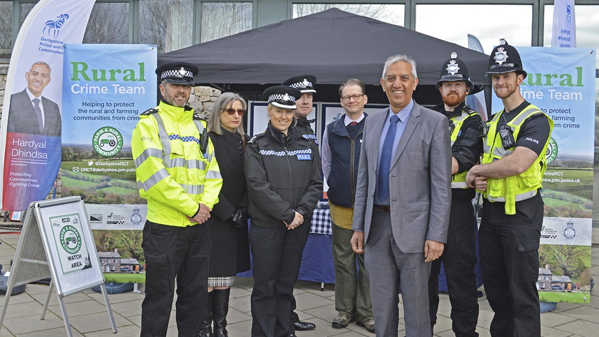 Derbyshire police commit to help beat rural crime