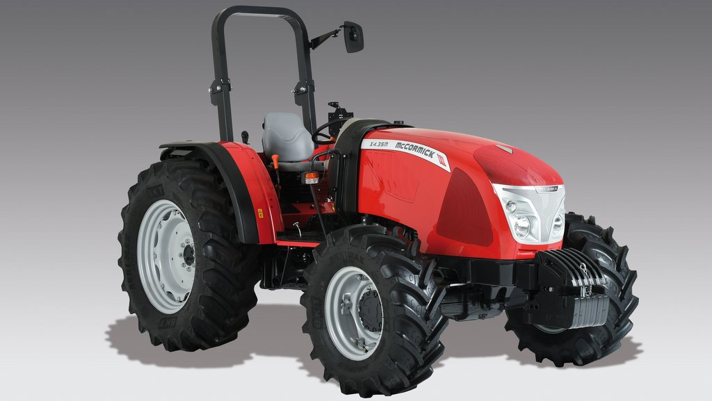Cost-sensitive scraper tractor from McCormick