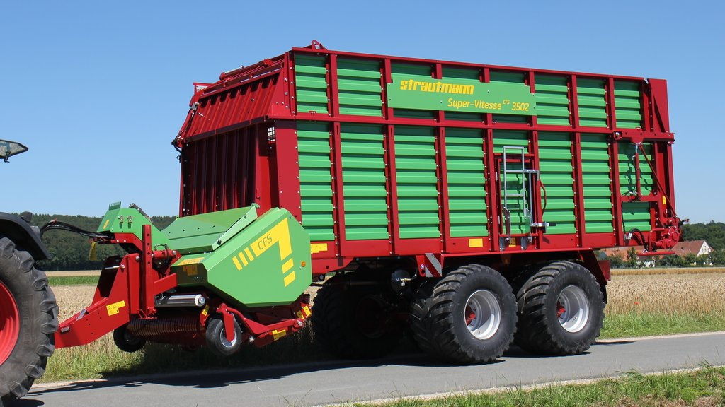 Strautmann extends role of its forage wagons