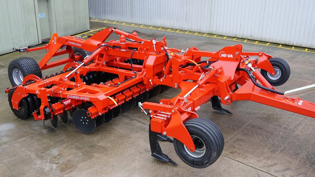 Wider Combi-Disc cultivators from He-Va