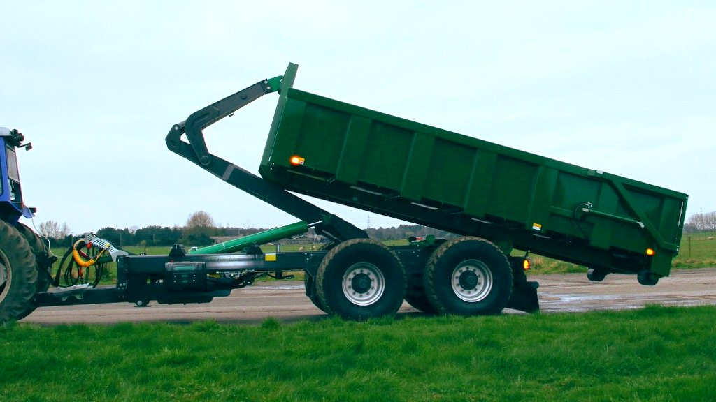 Harsh introduces hook-lift trailers to its portfolio