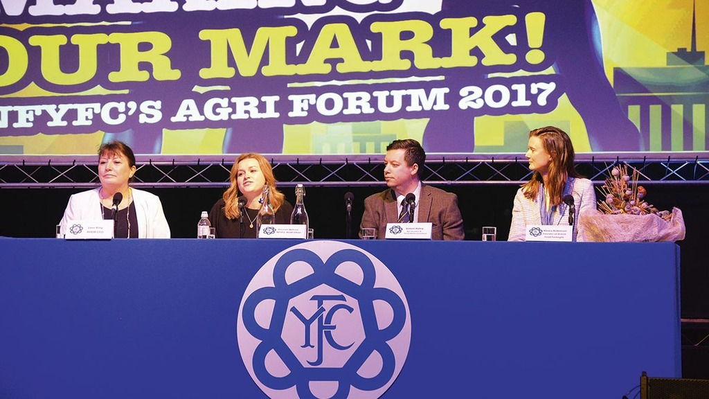 'Make your mark' - young farmers must burst online bubble to promote industry