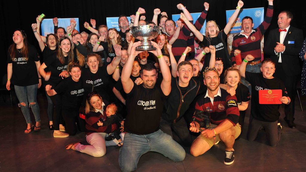 AGM 17: Llanfyllin are crowned winners of entertainment final