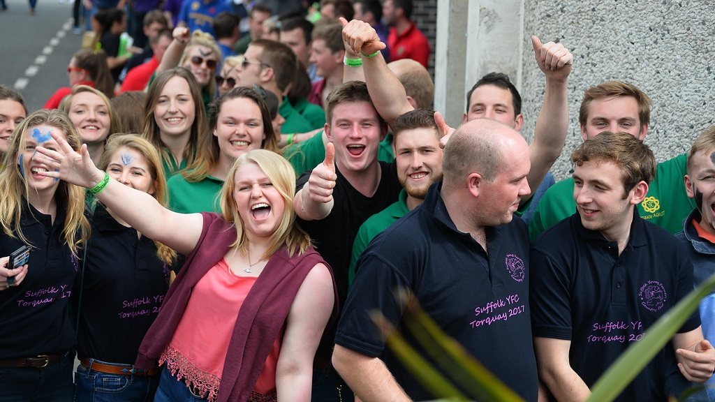 PICTURE GALLERY: Young farmers 'out and about' at YFC AGM 2017