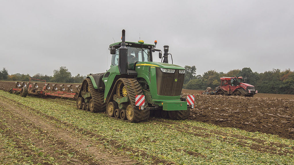 User story: Reliability issues prompt track tractor change
