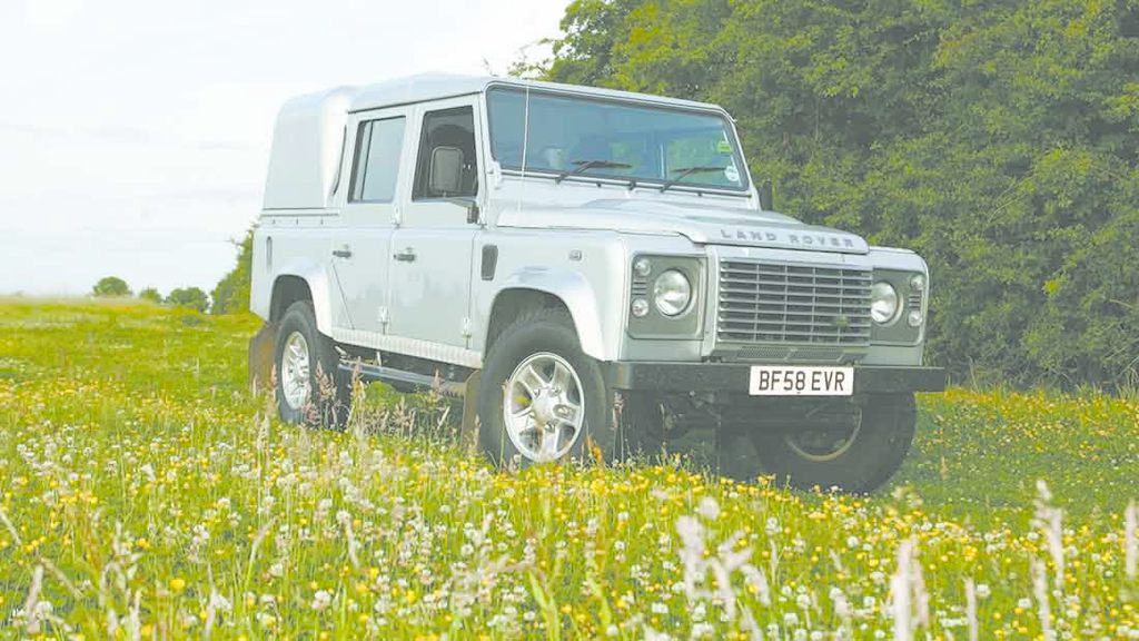 NFU Mutual's top tips for securing your Land Rover Defender: