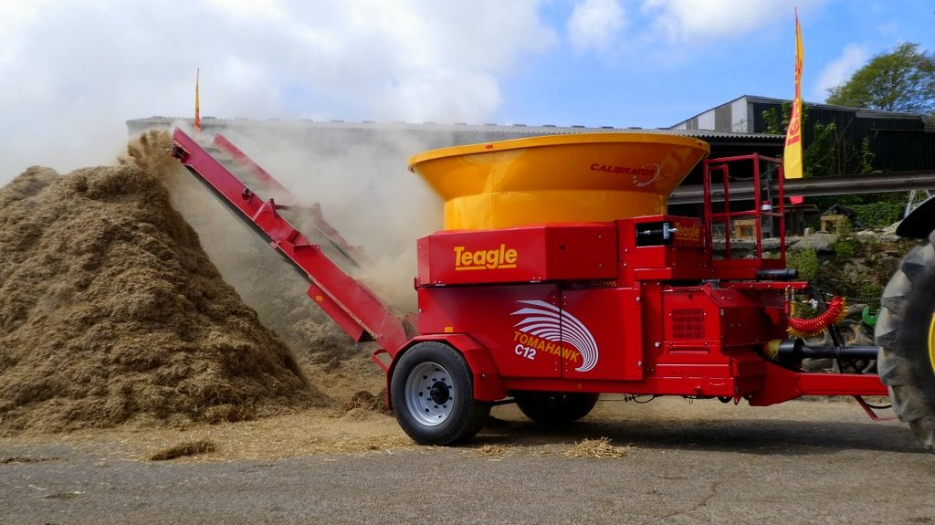Teagle launches high capacity straw processor