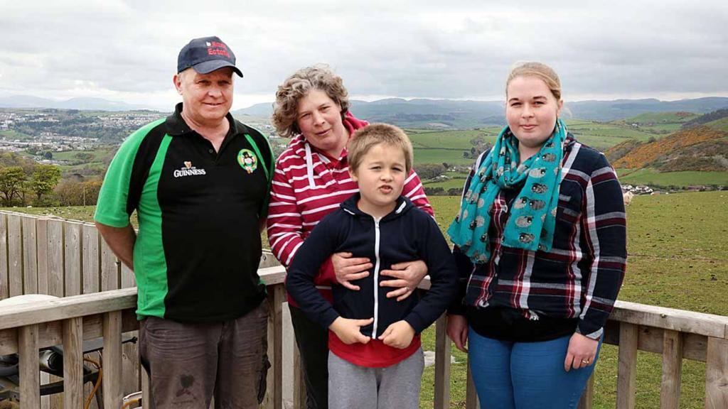 Welsh family develops unique lamb product