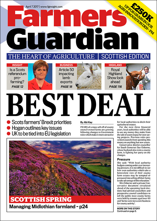 Why choose the Farmers Guardian Scottish Edition over other publications?