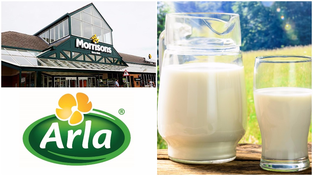 'Producers have to benefit from it' - Morrisons agrees exclusive three-year-deal with Arla