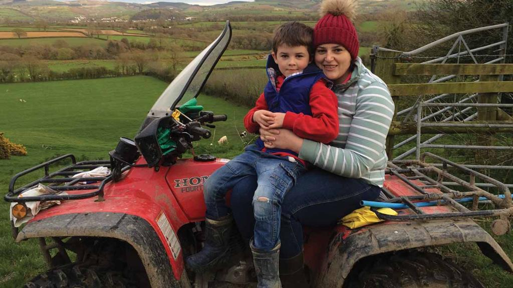 Young Farmer Focus: Helen Howells, Lampeter, Ceredigion