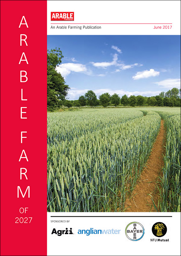 Read Arable Farm 2027 here