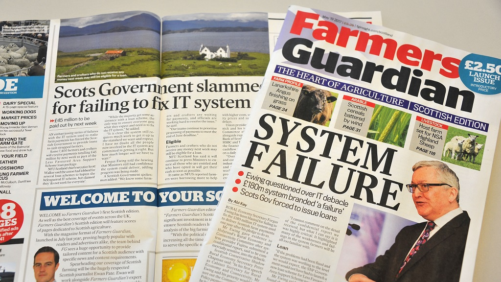 Introducing the NEW Farmers Guardian Scottish edition