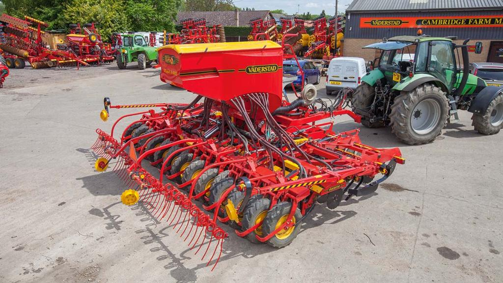 Buyer's guide: What to look for in a used Vaderstad Rapid drill
