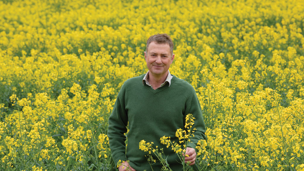 Staffordshire farmer sows seeds of success