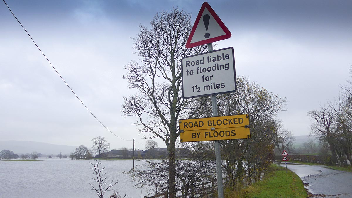 Better flood resilience needed to safeguard food production, says NFU