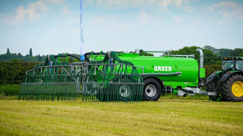 Grass and Muck 2017: Muck and slurry equipment demonstrated