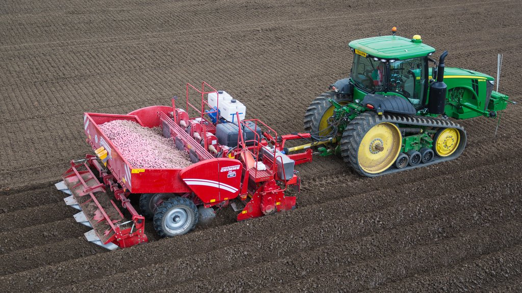 User Story One Pass Grimme Potato Planting Rig Boosts Output