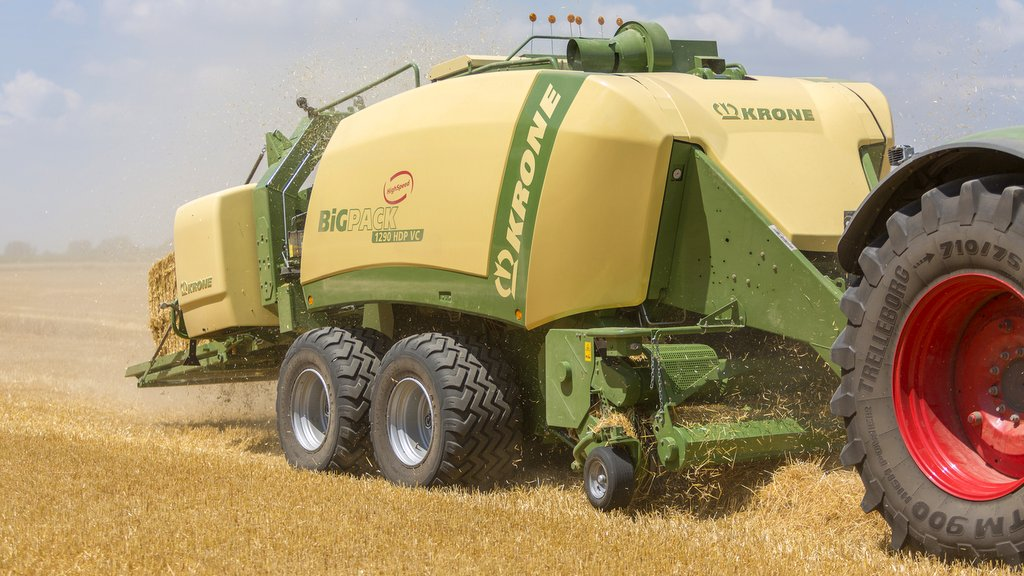 Krone adds new chopping system to Big Pack balers