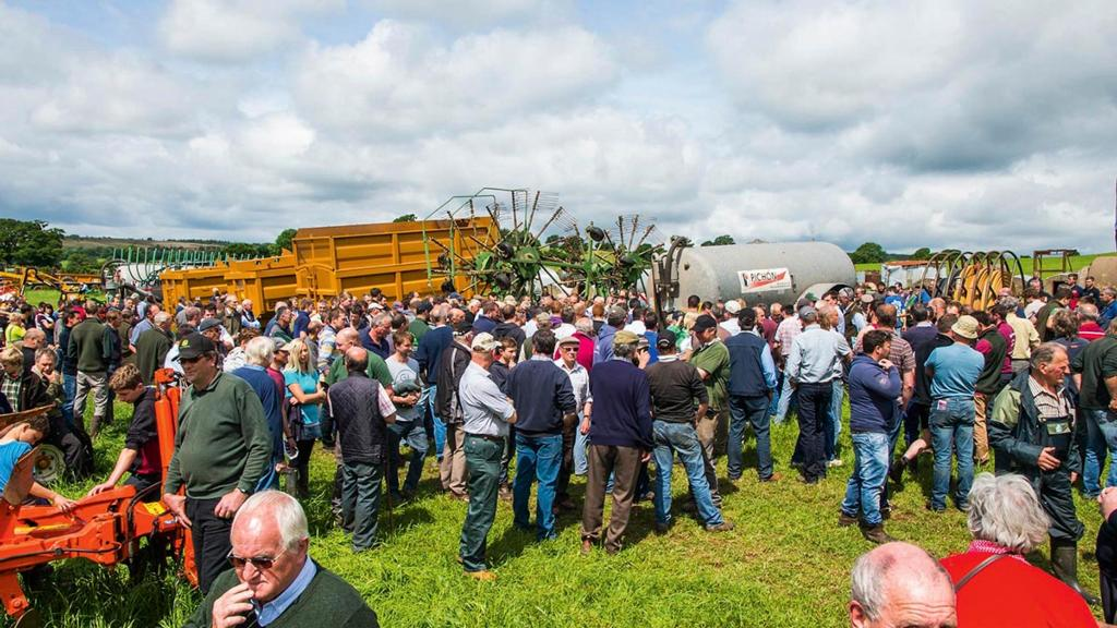 Machinery sale: Quality machinery in demand at Devon farm sale