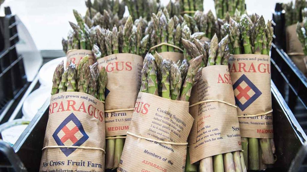 Asparagus: How it is grown at New Cross Fruit Farm