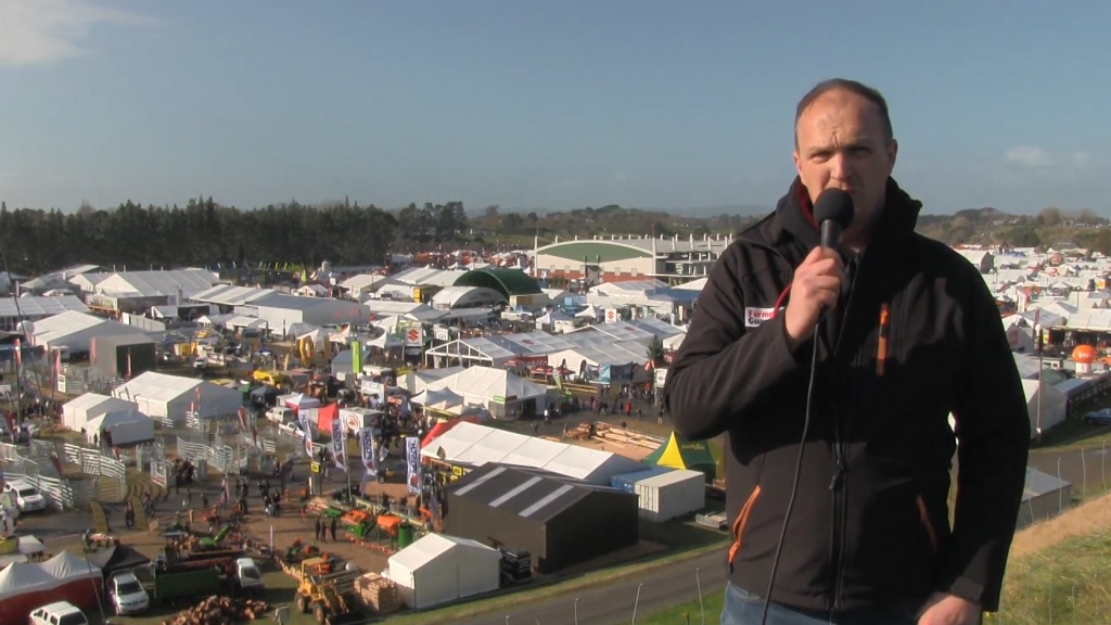 VIDEO: FG in New Zealand - Fieldays 2017 interview with Lincoln Agritech's Dr Blair Miller