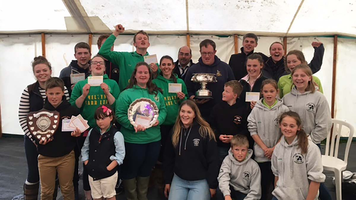 Yorkshire Young Farmers win all three trophies at Northern Area Field Day