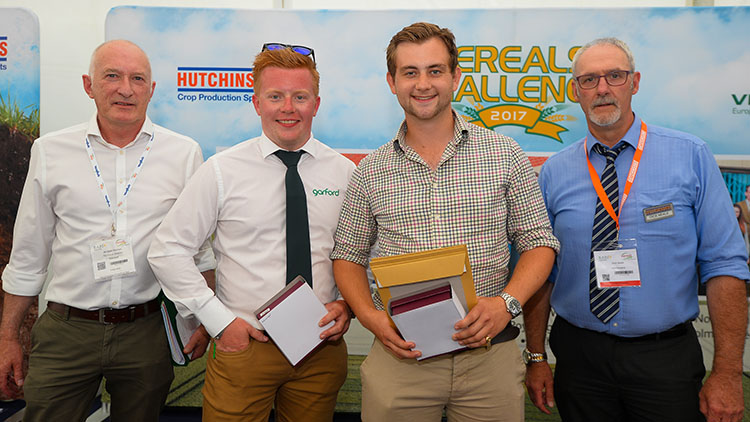 Cereals 2017: Writtle University team wins virtual cropping challenge