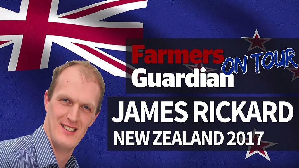 VIDEO: FG machinery man James Rickard heads to New Zealand