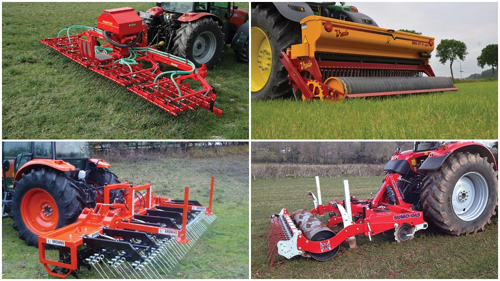 Equipment tailor-made for your grassland: the latest rejuvenation machines...