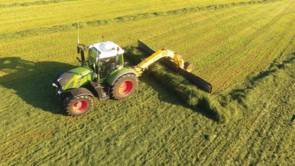 User story: Dairy farmer lowers risk of soil contamination in forage
