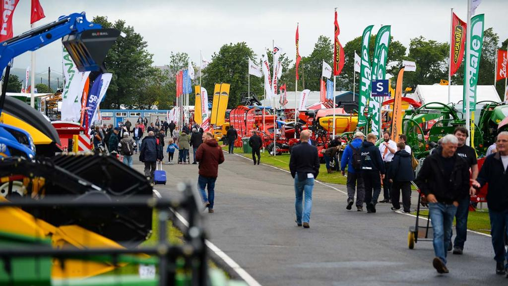 Royal Highland Show: Latest machinery debuts