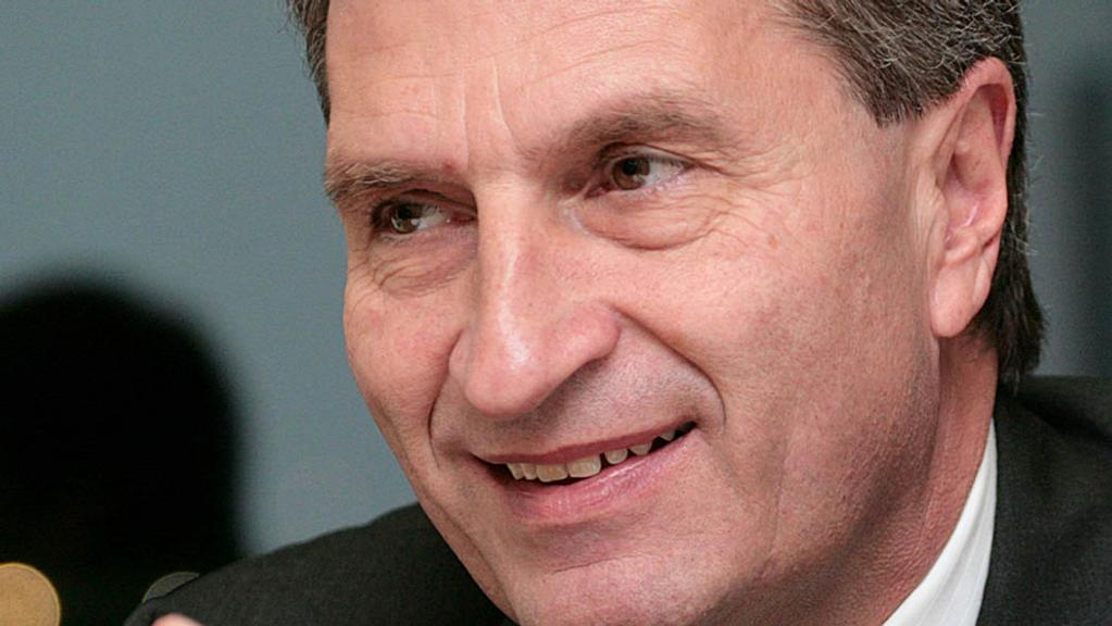 REPORT: Gunther Oettinger