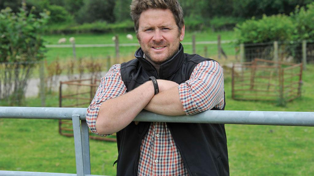 James Powell: 'The newly wrapped bales were soon appreciated by a few unwanted guests'