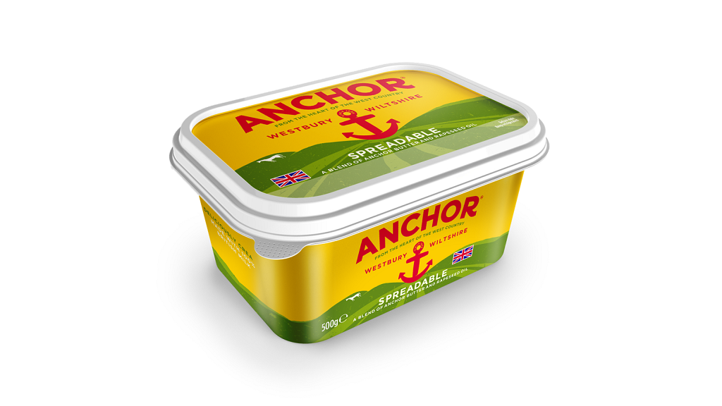 Arla rebrands Anchor butter to showcase its 'Britishness'