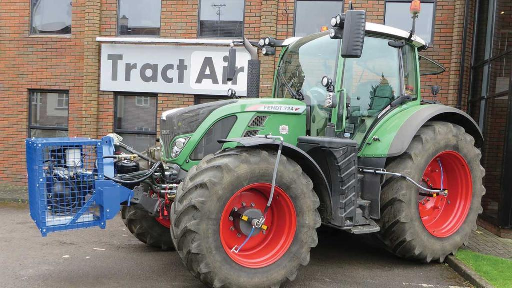 How it works: Altering tractor tyre pressures on the go