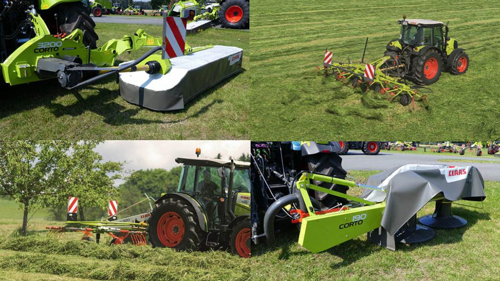 Claas offers big tech in small packages for 2018 season