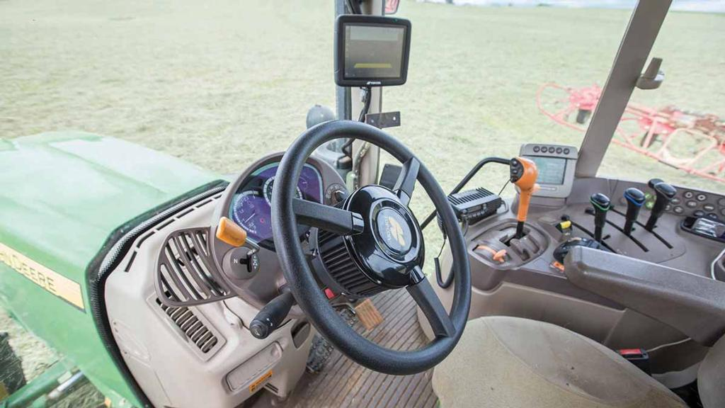 Upgrading older tractors to take advantage of auto-steering capability