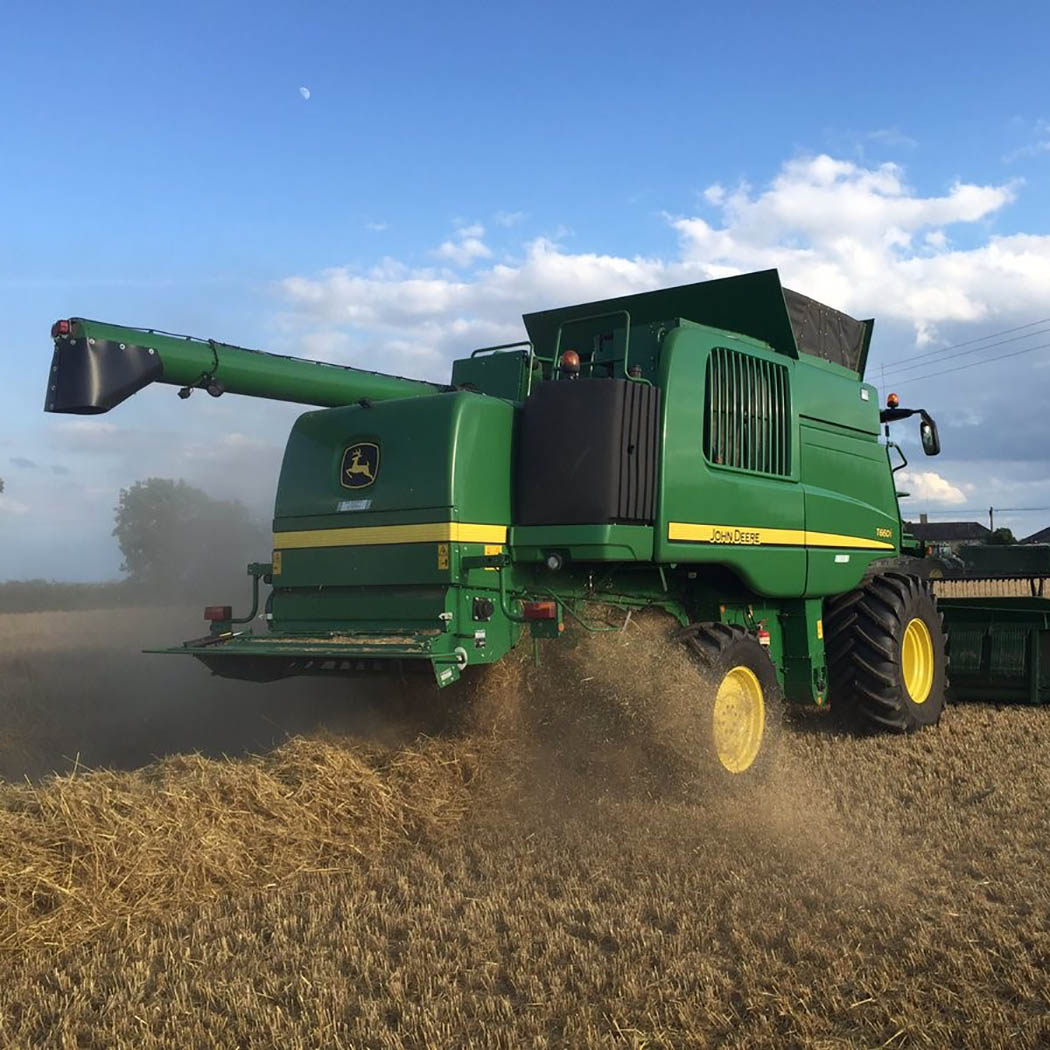 Winter barley harvest kicks-off in Norfolk