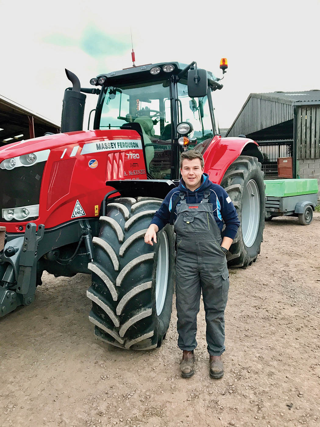 "Young farmer focus: Ben McClymont - ""Work's begun with spreading slurry and bruising"""