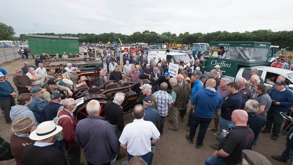Machinery sale: Rare items catch the eye as classic tractors go under the hammer