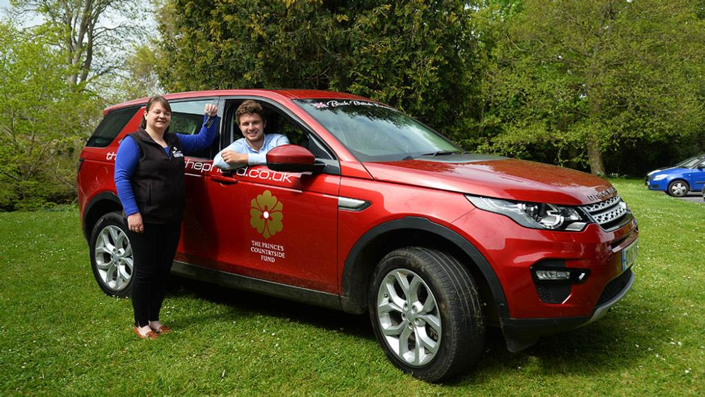 Land Rover and The Prince's Countryside Fund launch 2017 bursary