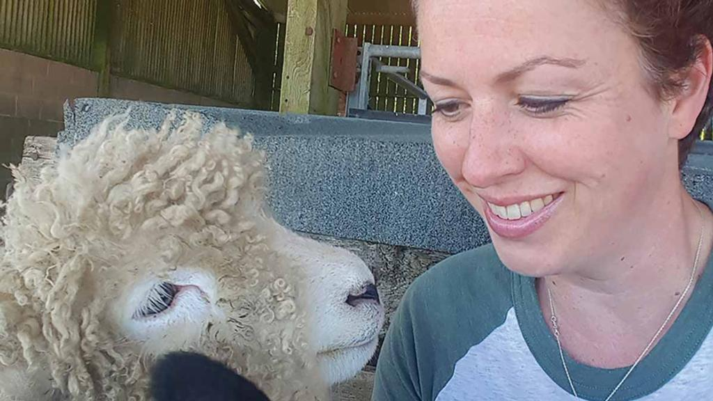 How one lady learnt to breed and butcher her own lambs