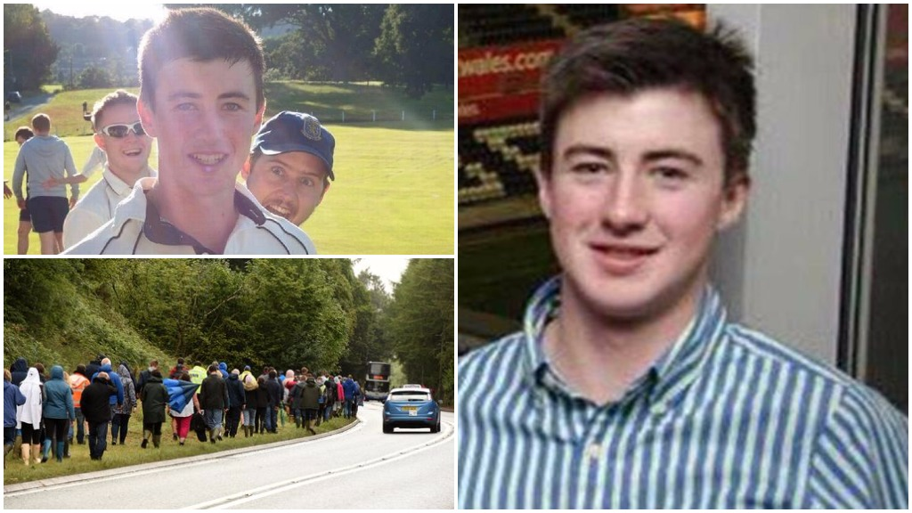 'We love you James' - hunt for missing young farmer enters third day at Royal Welsh Show