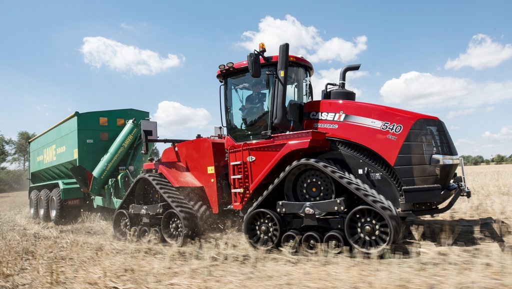 Case IH launches world's most powerful CVT tractor