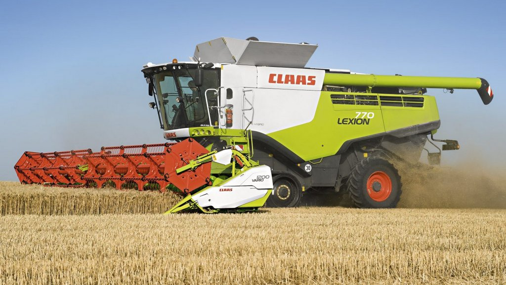 Claas boosts combine output with new automated features