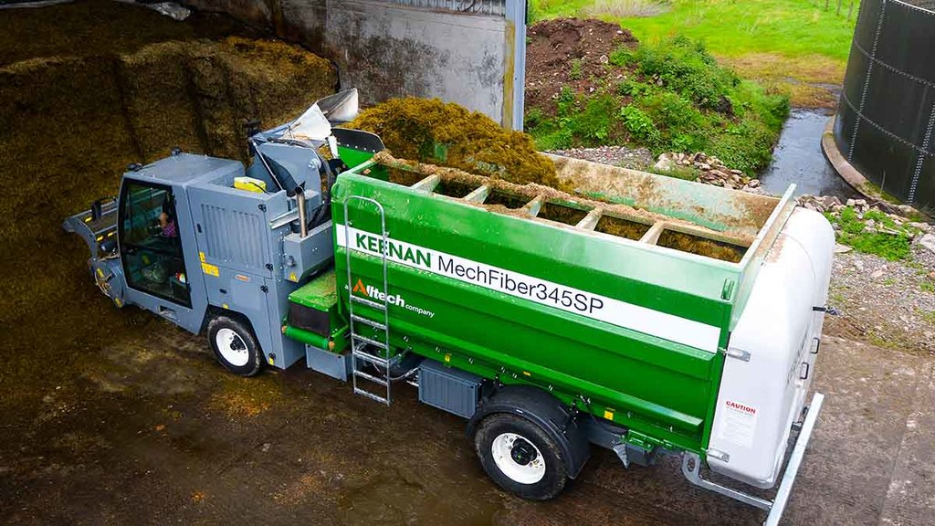 Self-propelled mixers do not come cheap, with Keenan's MechFiber 354SP costing £170,000.