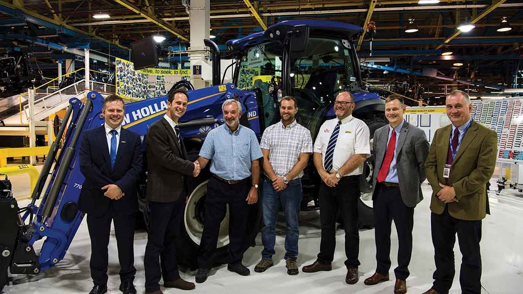 Meet the Farmers Guardian New Holland T6.180 prizewinner for 2017