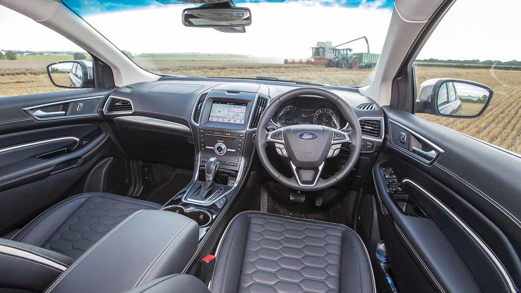 Interior is smart and buttons fall easily to hand.