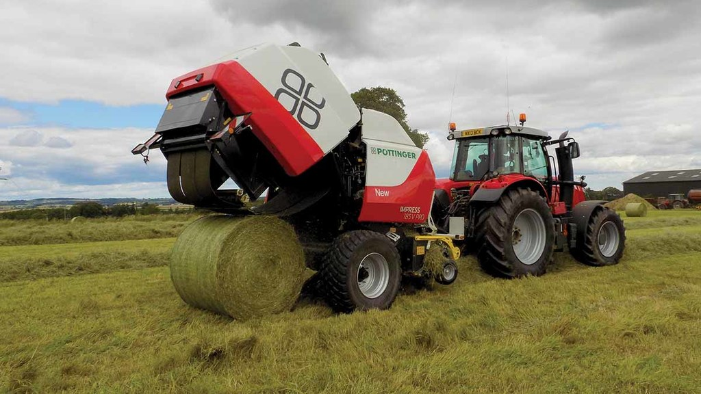 VIDEO: On-test: Smart features make Pottinger baler stand out